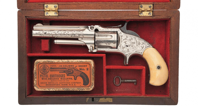 Amazing collection of rare firearms to be auctioned of next week