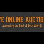 The popularity and mechanics of online auctions (Auction Infographic)