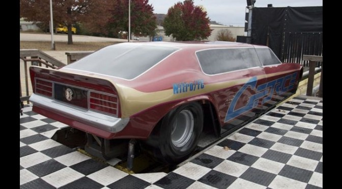 One-of-a-kind drag race simulator to be sold off