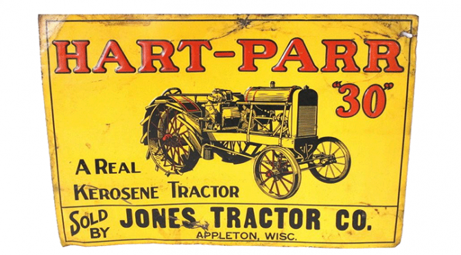 Antique and collectible agriculture-related product up for bid