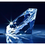 Flawless blue diamond destined for auction