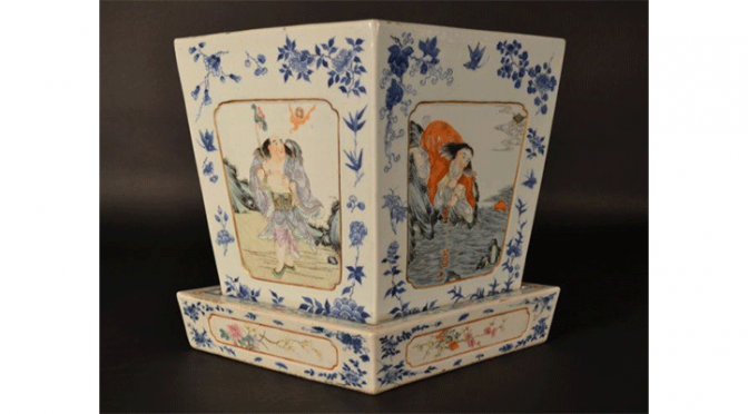 Plenty of antique pottery will be up for sale for this European and Asian art auction.