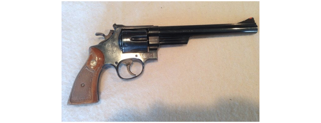 Smith & Wesson .45 Colt Revolver