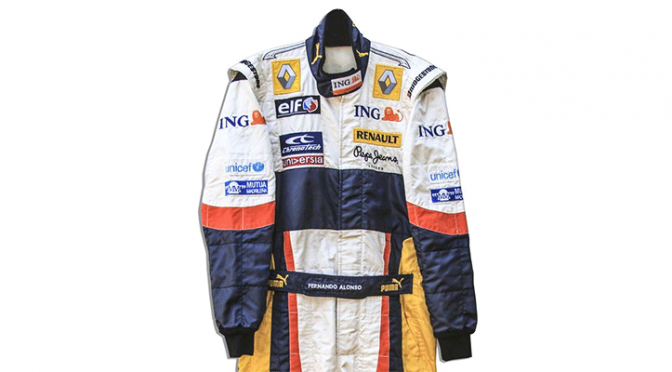 A sports memorabilia auction will feature items from Enzo Ferrari, Pete Maravich and Fernando Alonso.