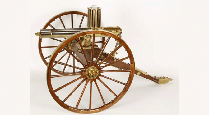 Furr Arms Miniature 1874 Gatling Gun