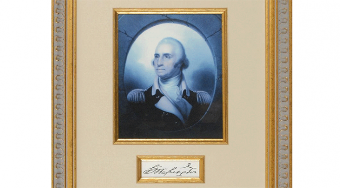 A collectibles auction occurring on July 16 will feature signatures of some of our earliest presidents.