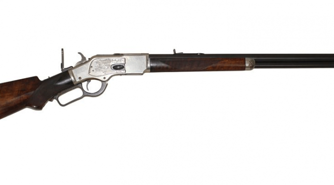 Winchester 1873 Deluxe Rifle