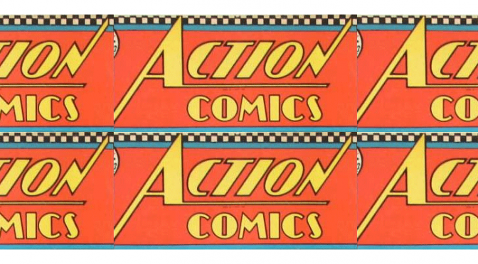 Comic book sets record at auction