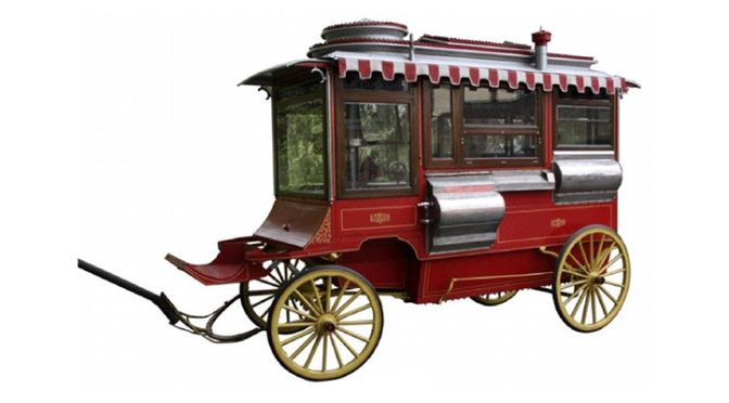Cretors & Co. Model D Popcorn Wagon