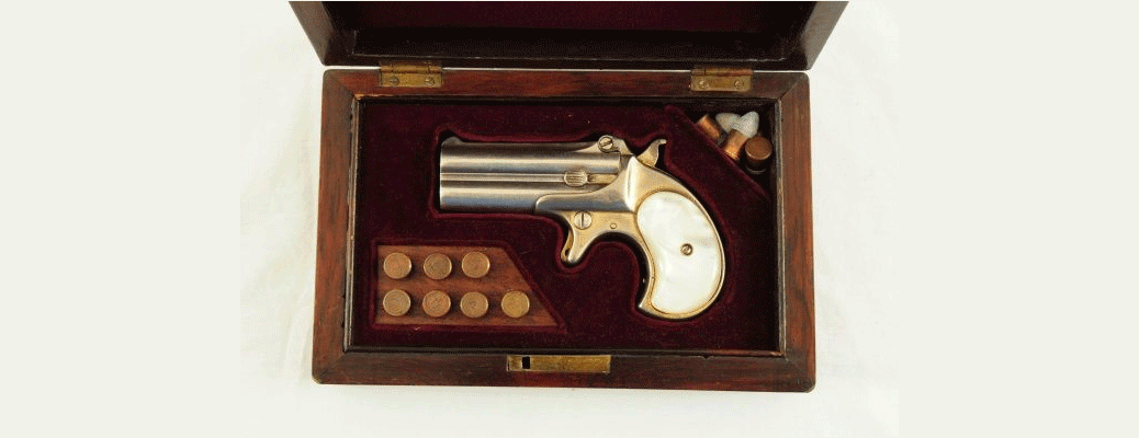 Remington Derringer Attributed To Doc Holliday