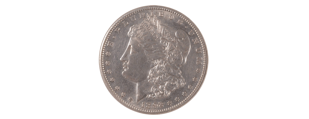 892-S Morgan Silver Dollar, PCI MS-60