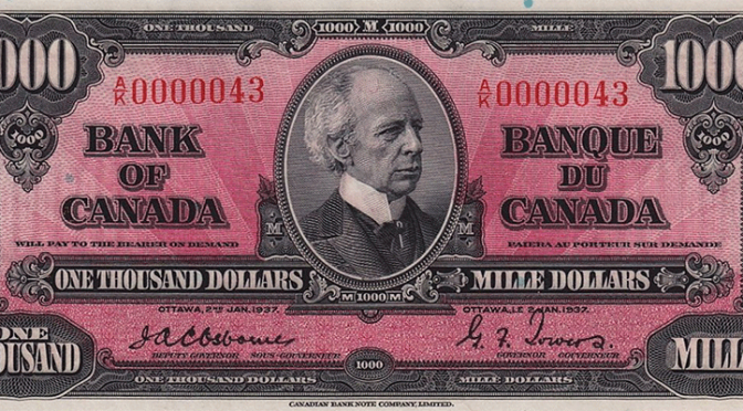 Geoffrey Bell Auctions Offering Over 700 Lots Of Canadian Coins and Paper Money on iCollector.com