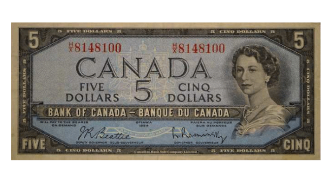 Online Auction of Canadian Coins and Paper Money Offering No Reserve and $3 Start Prices