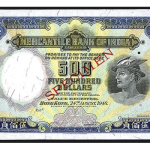 Chinese and Asian Banknotes Up For Auction Live from Hong Kong on January 10th on iCollector.com