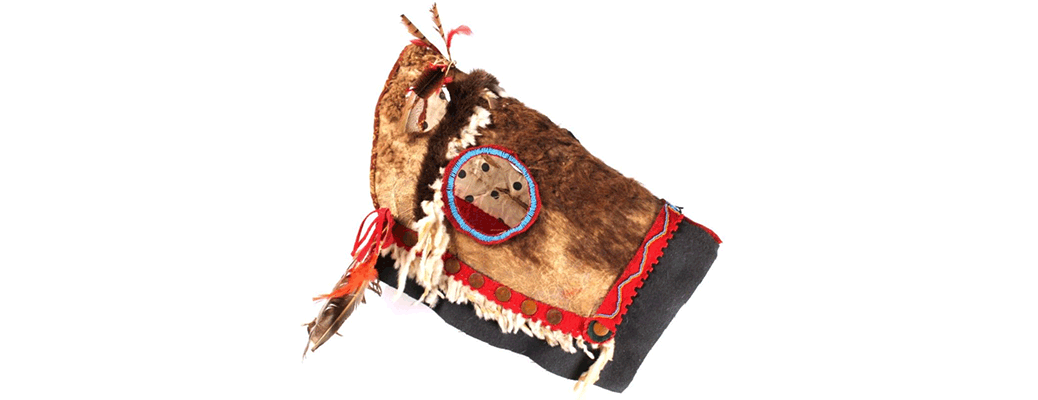 Blackfoot Buffalo Horse Mask circa 1840-1880