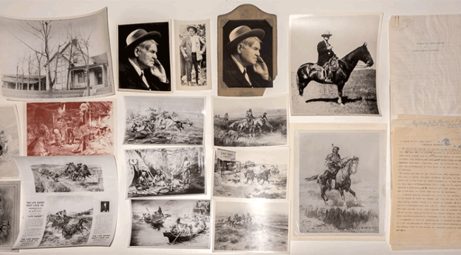 Charles Russell Collection (Sketches, Photographs, Documents)