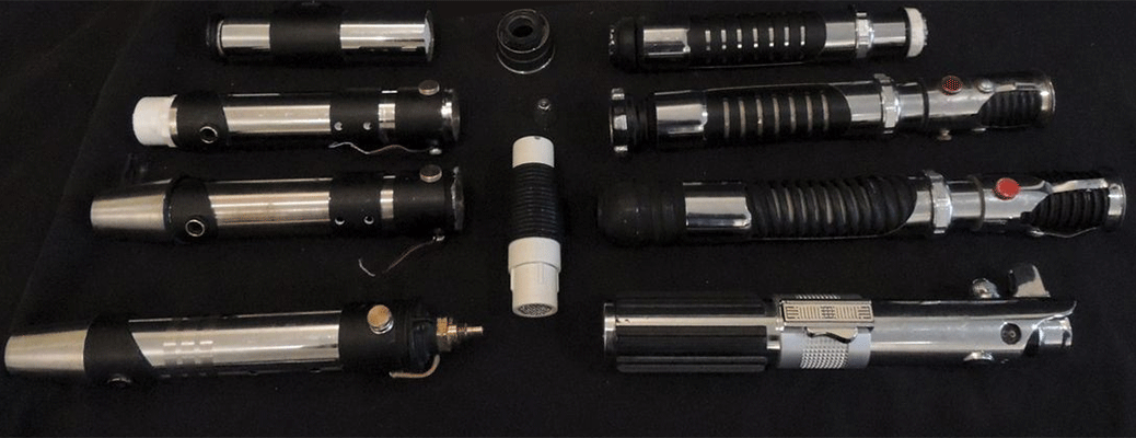 Collection of Lightsabers