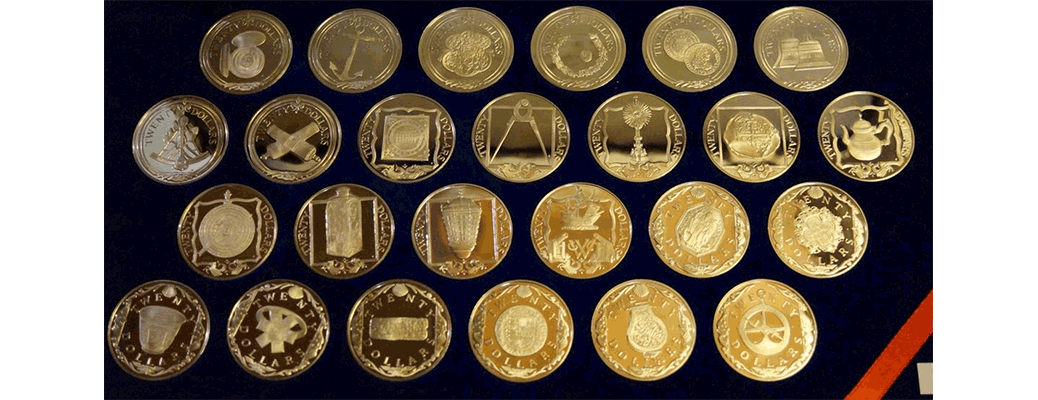 1985 Treasures of the Caribbean Coin Set