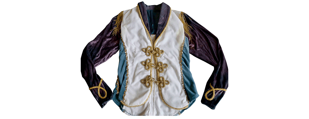 Original Quarterflash Performance Jacket Worn by Rindy Ross from the Us Festival