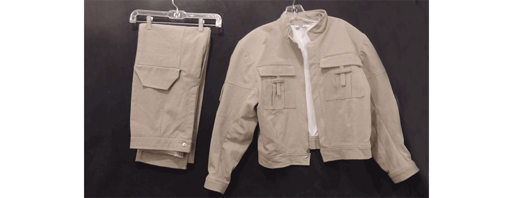 complete Luke Skywalker Bespin wardrobe from STAR WARS THE EMPIRE STRIKES BACK!
