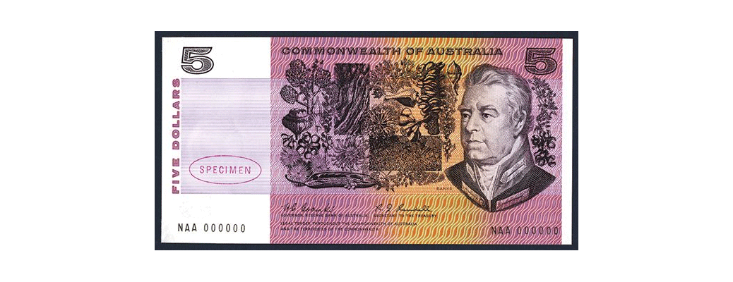 Commonwealth of Australia, 1966-67 Issue.