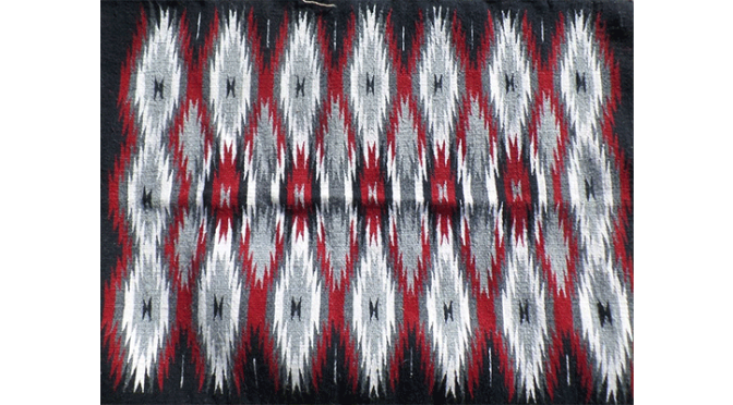 Navajo Weaving from the 1940's