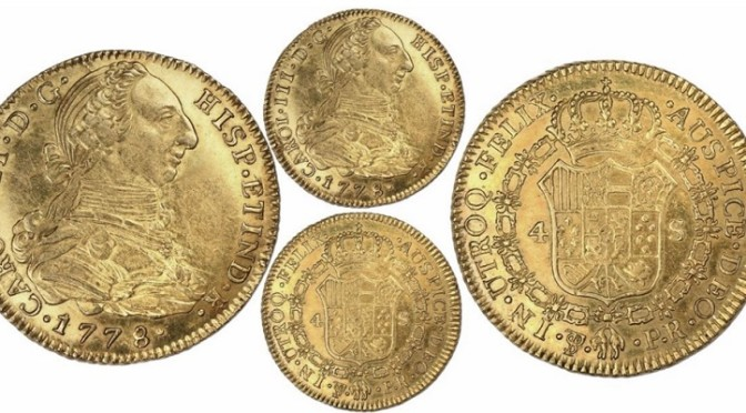 Outstanding Live Auction of Treasure and World Coins from Daniel Sedwick on October 29th