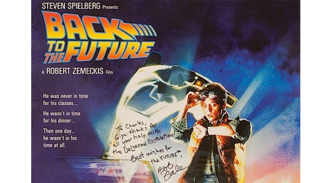 "Celebrate the 30th Anniversary of ""Back to the Future"""