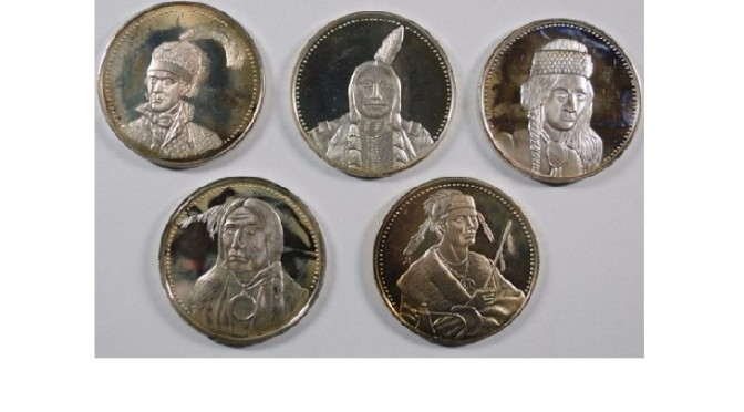 500 Lots of US Coins and Currency Are Up For Auction On December 1st from Silvertowne