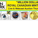 "Million Dollar Exclusive ""Royal Canadian Mint"" Coin Collection from AuctionNetwork on November 19th"