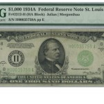 US Coins, Paper Money, and a selection of Jewelry Up for Auction Until March 24th