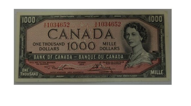 Edmonton Signature Auction of Canadian Coins, Gold, Paper Money, and Mint Product on May 14th