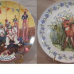 Commemorative and Collector Plates Opening for Bidding at One Dollar