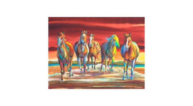Original Fine Art of the American West – Online Only Auction January 14th