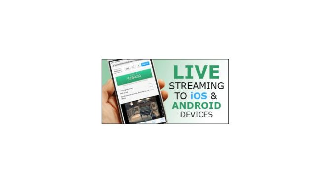 Live Audio and Video Now Launched on All Mobile iOS and Andriod Devices