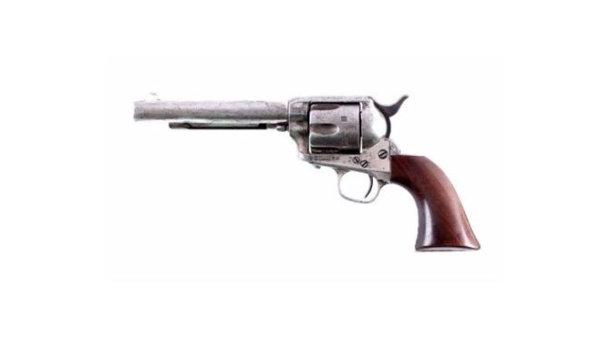 Historic Firearms and Old West Auction on September 30th