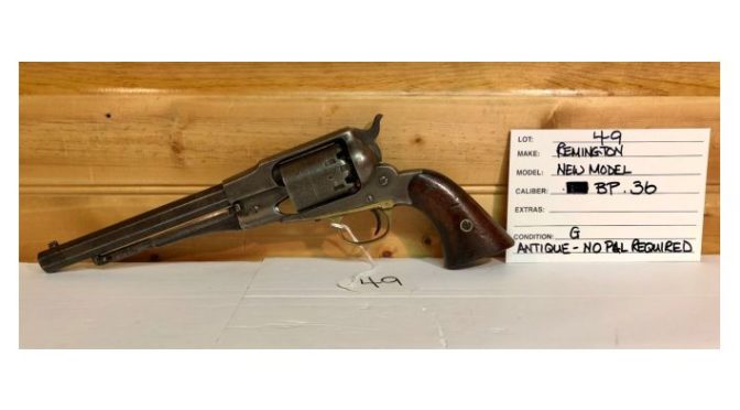 Kidd Family Auction Presents Their February 23rd Firearms Auction