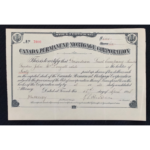 Superb Collection Of Loan Company Share Certificates Hit The Auction Block April 30th to May 2nd