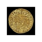 Gold 8 escudos Royal recovered from the 1715 Fleet shines in Sedwick's November auction